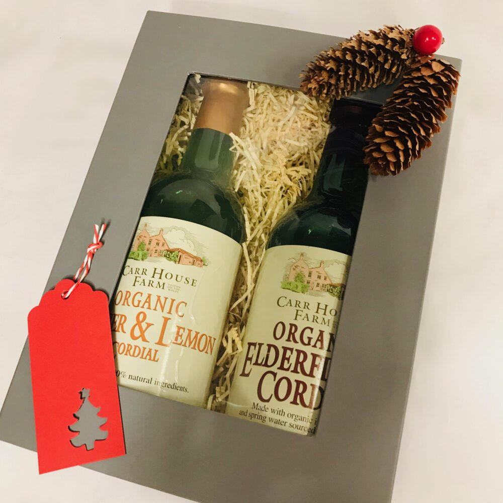 Side Oven organic cordial christmas gift box