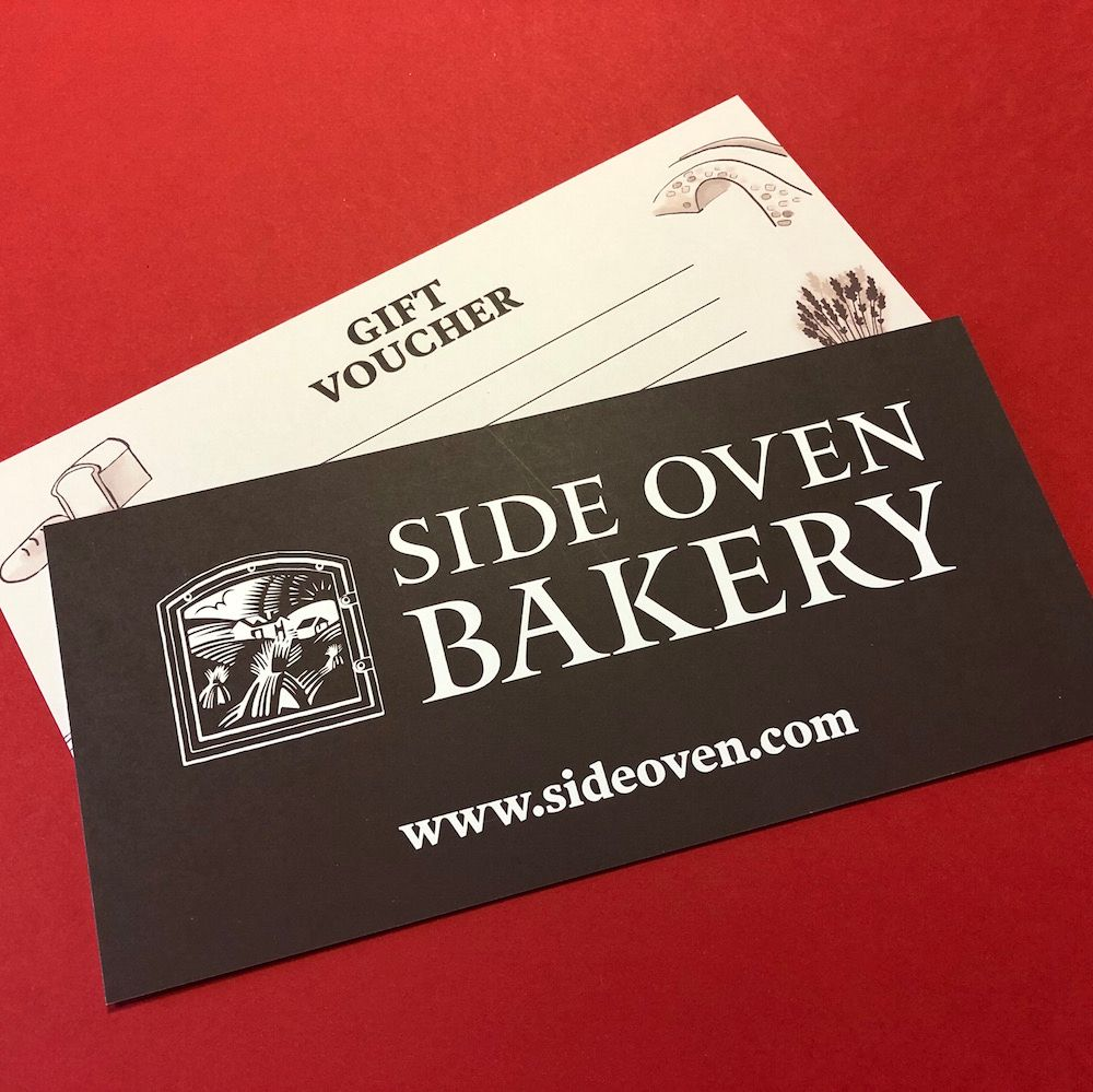 Side Oven Bakery gift vouchers