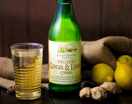 Side Oven Bakery organic ginger and lemon cordial