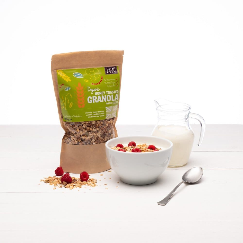 Side Oven Bakery Granola with Seeds