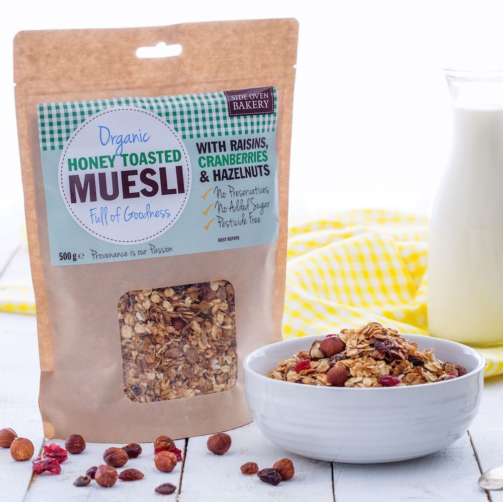 Side Oven Bakery luxury organic muesli