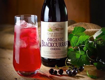 Side Oven Bakery organic blackcurrant cordial