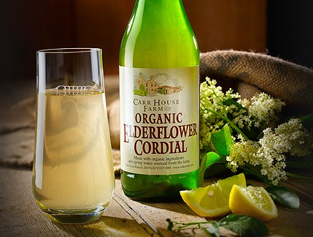 Side Oven Bakery organic elderflower cordial
