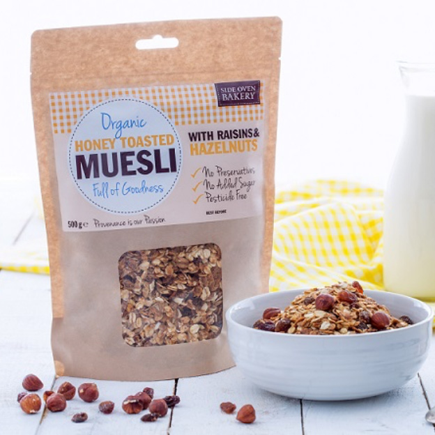Organic Honey Toasted Muesli