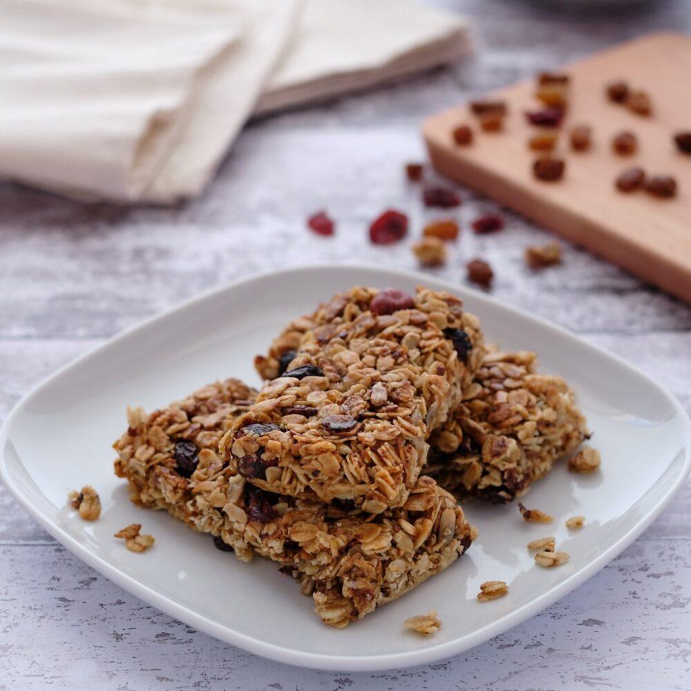 Organic Breakfast Bars & Fruit Loaves