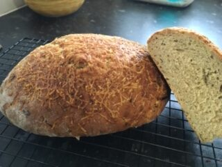 Cheesey Courgette Bread