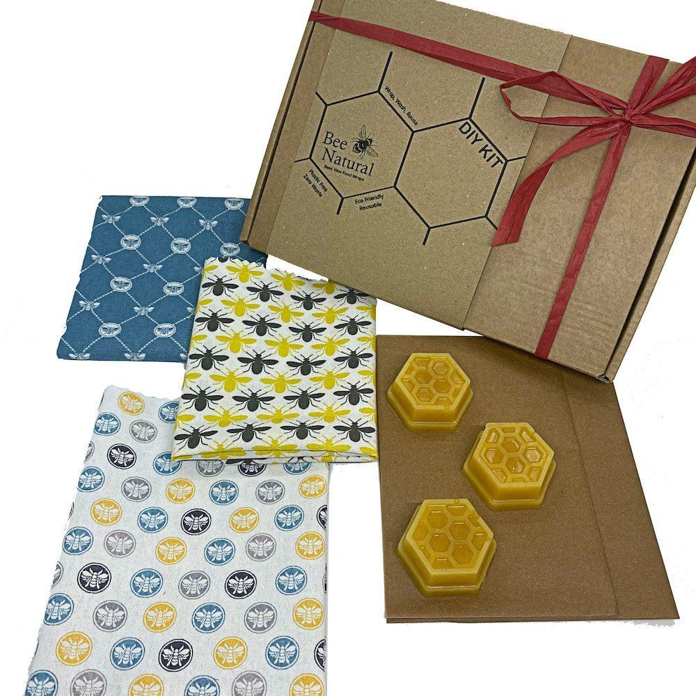 Beeswax wraps DIY kit