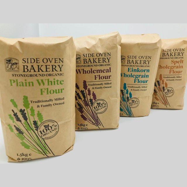 Organic stoneground flour