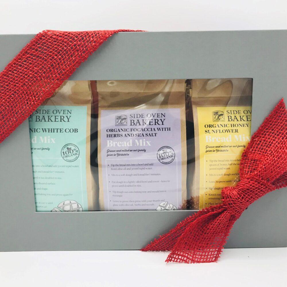 Side Oven Bakery organic bread mix homebaking selection box