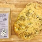 Side Oven Bakery organic focaccia with herbs and sea salt bread mix